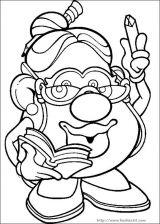 小北极熊宝宝_蛋头先生和太太简笔画[57P]_卡通动漫简笔画(涂色图片) - 【宝宝吧】