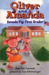 小猪兄妹Amanda Pig,First Grader