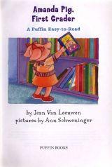 小猪兄妹Amanda Pig,First Grader3