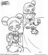 神奇小魔女(DoReMi)填色图5