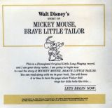 Mickey Mouse, Brave Little Tailor(迪士尼)2
