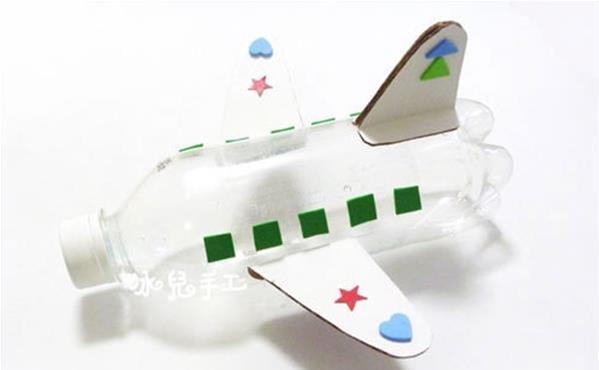 饮料瓶制作小飞机模型