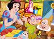 白雪公主和七个小矮人涂色