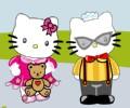 小花猫情侣、唐老鸭夫妇打扮