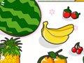 小兔看图识字:水果
