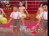 幼儿学跳舞