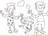 幼儿画画(全家福)小游戏