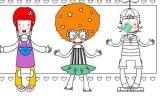 儿童排排坐涂色游戏