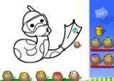 幼儿学画画游戏(国外)