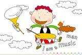 儿童画画:我是音乐人