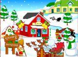 梦幻圣诞家园装扮