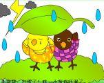 幼儿故事:小黄鸡和小黑鸡