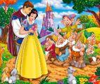 七个小矮人和白雪公主拼图