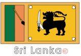 斯里兰卡国旗涂色