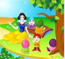 白雪公主和小矮人聚会