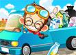 小猴开车 赛车游戏