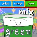 单词学习:mix,red,green