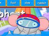 单词学习:slow,fast,run