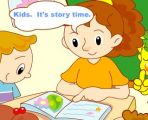 it is story time