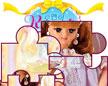 美丽芭比娃娃拼图