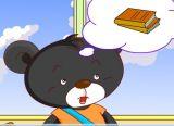 小黑熊上学校