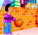 Billy and the basketball