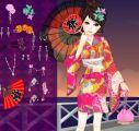 日本女孩新年打扮