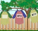 一二年级:衣服数字找规律