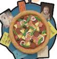 手工艺术:比萨饼个人文件夹