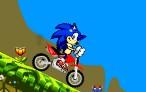 索尼克骑自行车