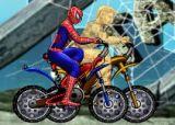 蜘蛛侠自行车赛