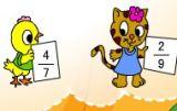 简单的同分母分数加减法1