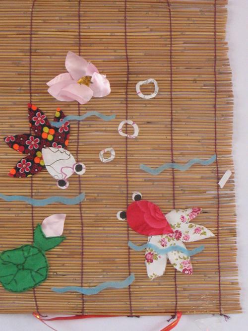 幼儿教师手工布贴画_布贴画系列之3李葫芦搜集整理